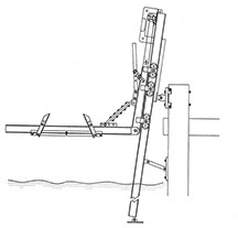 piling-mounted side lift-boat lifts unlimited